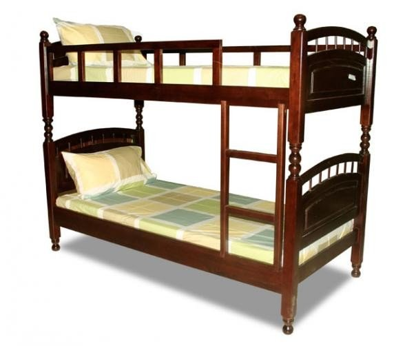 Double decker bed double layer steel made bunk bed double for Double deck bed design