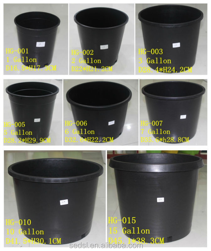 1 Gallon Nursery Pots Plant Picture Frames In Bulk