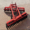 2.5meter hydraulic heavy duty offset disc harrow for 100hp tractor