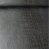 crocodile PVC leather for sofa making DH108