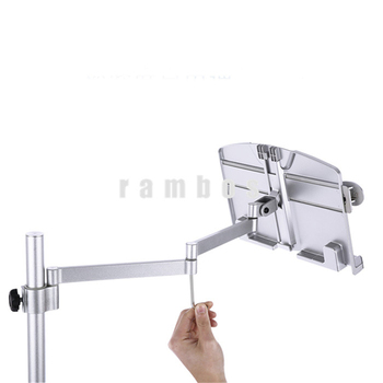 360 Degree Rotating Flexible Reading Stand Tablet Arm Holder For Bed Desk Book