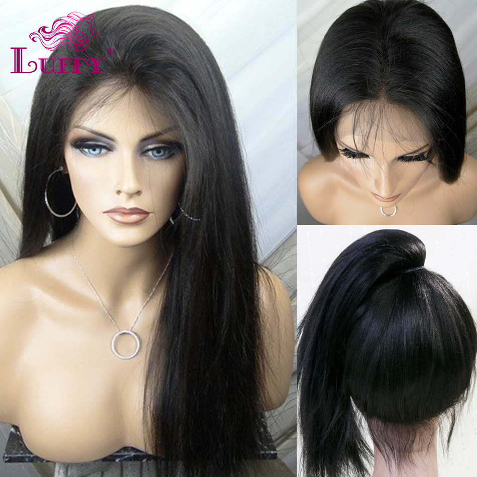 2015 Wholesale Price Straight Full Lace Human Hair Wigs