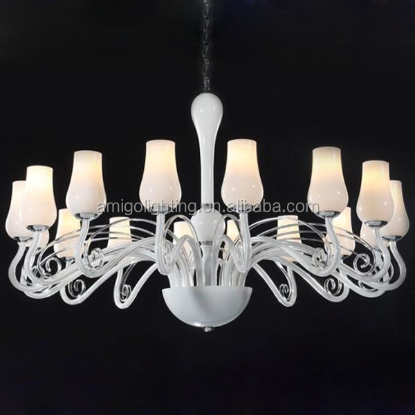 White Murano Glass Chandelier White Murano Glass Chandelier – White Murano Chandelier