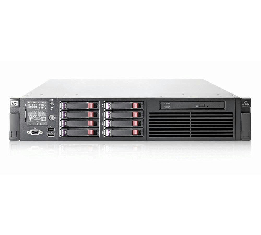 HP Proliant DL360 G6 Server X5570 2x 2.93GHz Quad Core 48GB RAM 4x 300GB P410