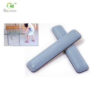 Teflon heavy furniture sliders pad with back adhesive