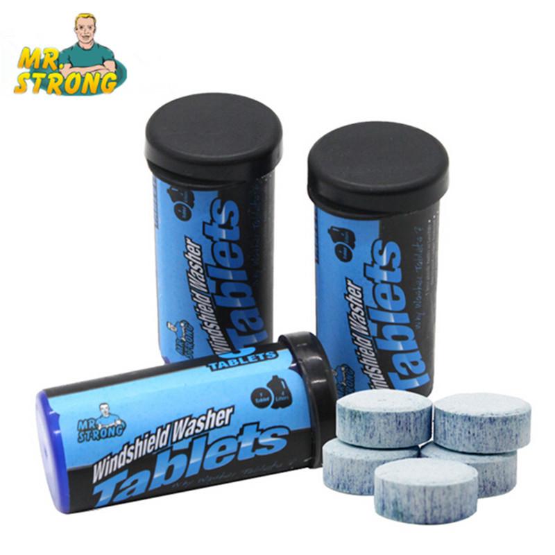 Car Windshield Glass Washer Cleaner Effervescent Tablets Detergent