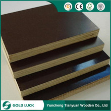 Water Proof Shuttering Plywood with thickness of 12mm,18mm