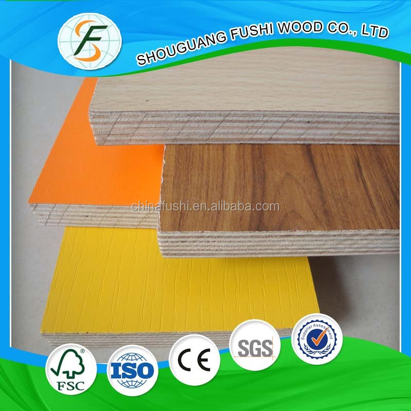 2017 china manufacturer supply 4x8 melamine mdf/particle board with cheap price
