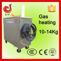 no boiler carpet engine dry cleaning battery LPG gas heating mobile steam jet cleaner car upholstery cleaning machine