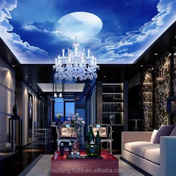 Profiter Du Ciel Nature Au Plafond Bleu Ciel Nature Papier Peint