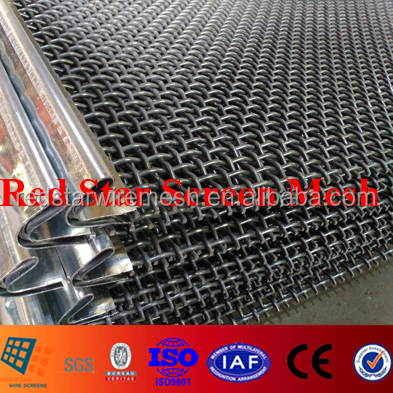 #409 Spring Steel Wire 65Mn High Carbon Sieveing Mesh Screens for Vibrating Screen Equipment