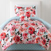 new patern 2016 romantic patchwork bed sheet