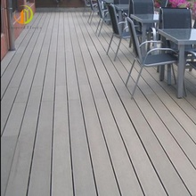 WPC composito outdoor decking Pavimenti in legno duro bordo/recinzione impermeabile decking