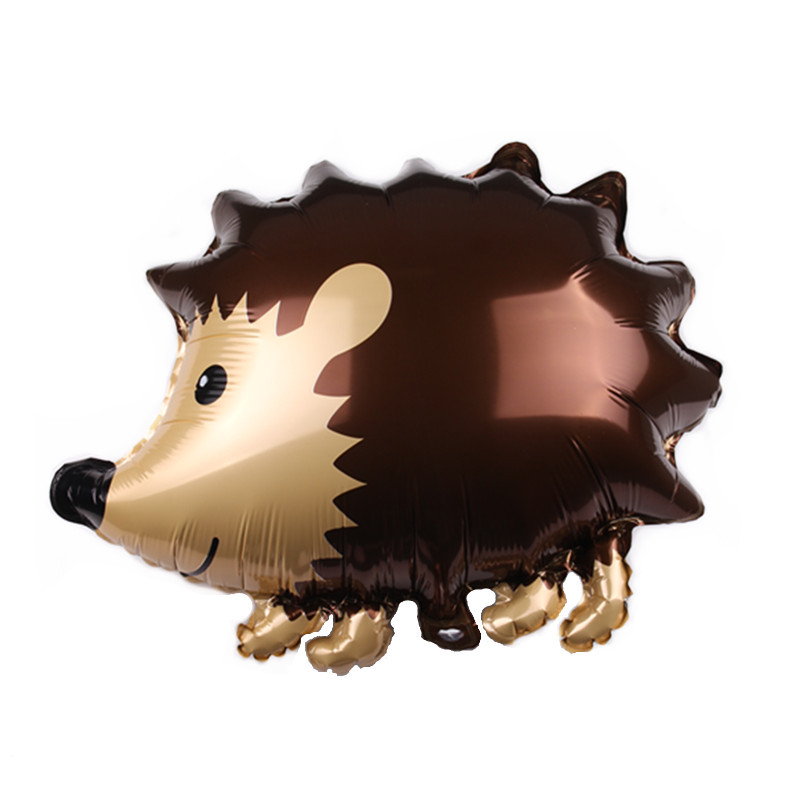 Helium Inflate Globos Fox Racoon susliks Hedgehog Baby Toy Animal Foil Balloon For bithry Party Celemony Decoration