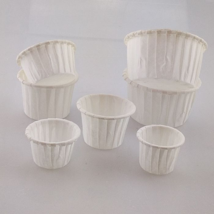 Different Size Paper Souffle Portion Cake Baking Cups