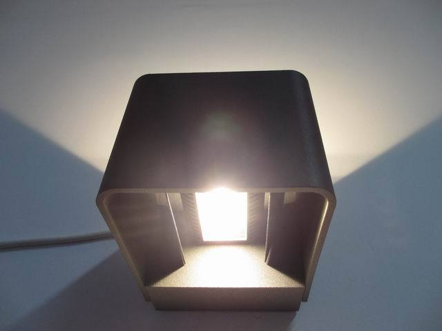 6w Architectural Led Wall Lights / Wall Mount Exterior Wall Light ...