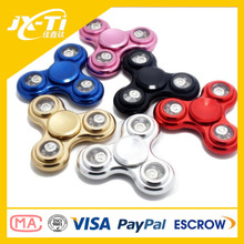 best selling ASTM F963 Standard aluminum alloy R188 bearing fidget spinner toys for kids