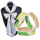 Silk Jewelry Accessories Shawl Ring Clip Tricyclic Scarves Buckle