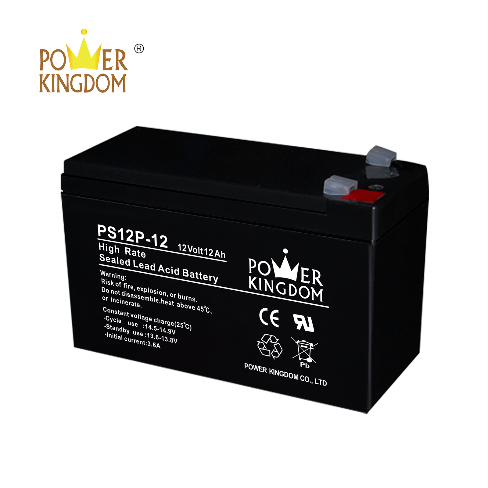Power Kingdom marine agm battery comparison company fire system-2