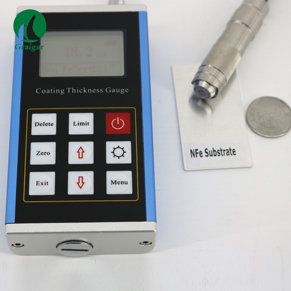 LEEB-231 Thickness Gauge with 0~1250um portable rubber plastic paint Thickness Price