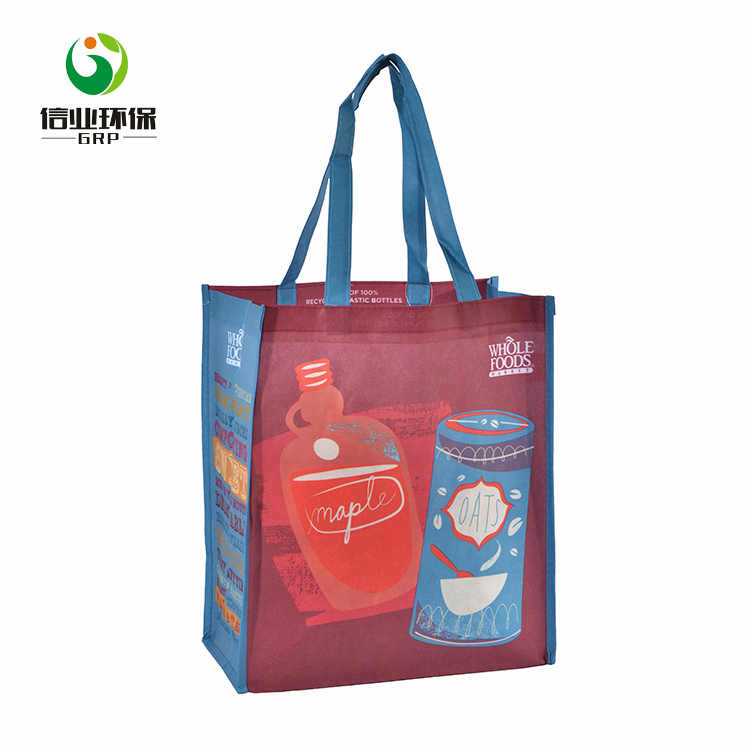 Promotional fashion special recycle durable pretty laminated non woven bag