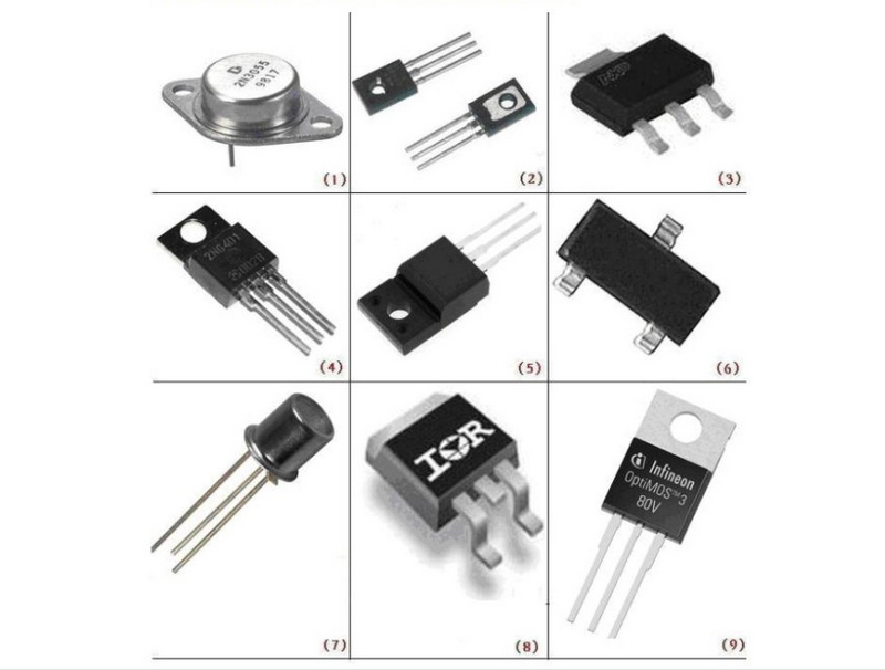List All Electronic Components For Mobile Phone