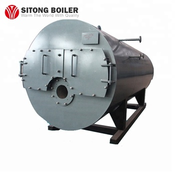 3b276507ed High Quality 3-pass Horizontal Fire Tube Steam Boiler