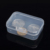 9* 6 *3.2cm clear hard plastic battery box