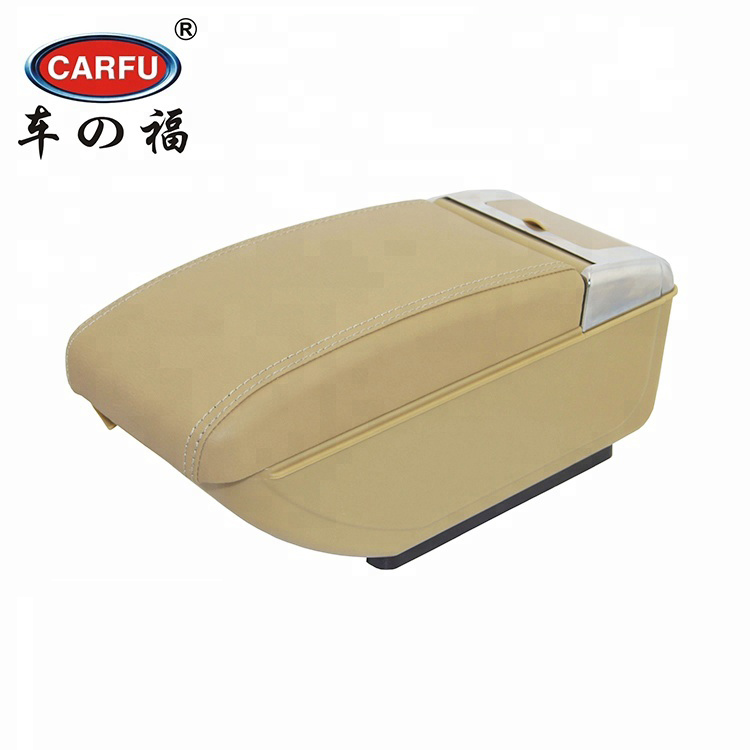 Armrest Box For Kia K2 Rio 2011 To 2016 Central Console Arm Store Content Box Cup Holder Ashtray Pu Leather Car Styling Parts Wide Varieties Auto Replacement Parts Interior Parts