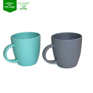 Chinese supplier biodegradable eco friendly black coffee tumbler