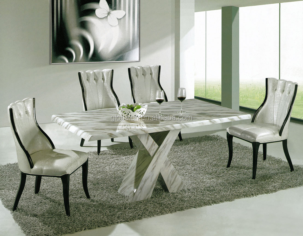 Casa moderna disegni cucina tavolo da pranzo in marmo buy tavoli