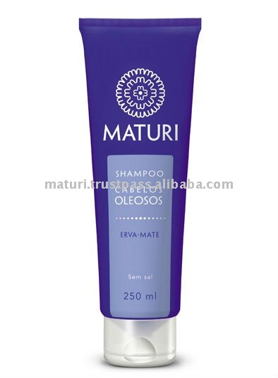 Maturi Shampoo for Oily Hair - Mate Herb - for Elder