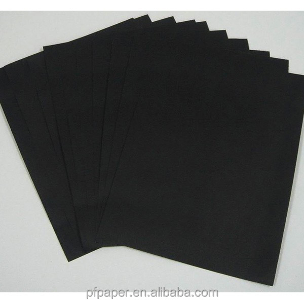 Virgin Wood Pulp Black Board Paper For CD Sleeve