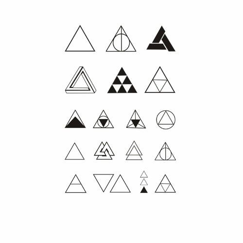 Creatieve Kleine Driehoek Tijdelijke Tattoo Stickers Buy Tattoo Stickerstijdelijke Tattoo Stickerscreatieve Tattoo Stickers Product On Alibabacom