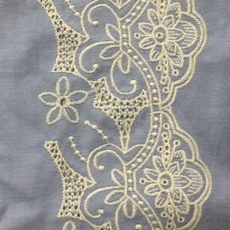 high quality latest design flower chemical lace embroidery swiss lace fabric