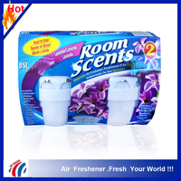 lavender fragrance room scents Revolving solid freshener/adjustable air freshener for kitchen,bedroom,bathroom