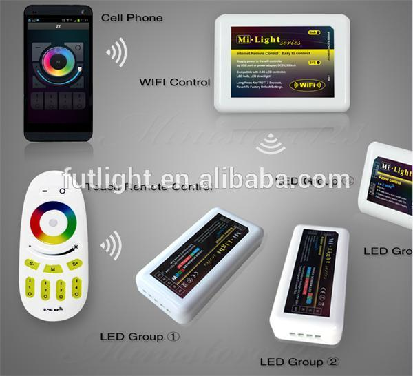 Mi.light Fut037 Led Light Dimmer Controller With Wifi Remote ...