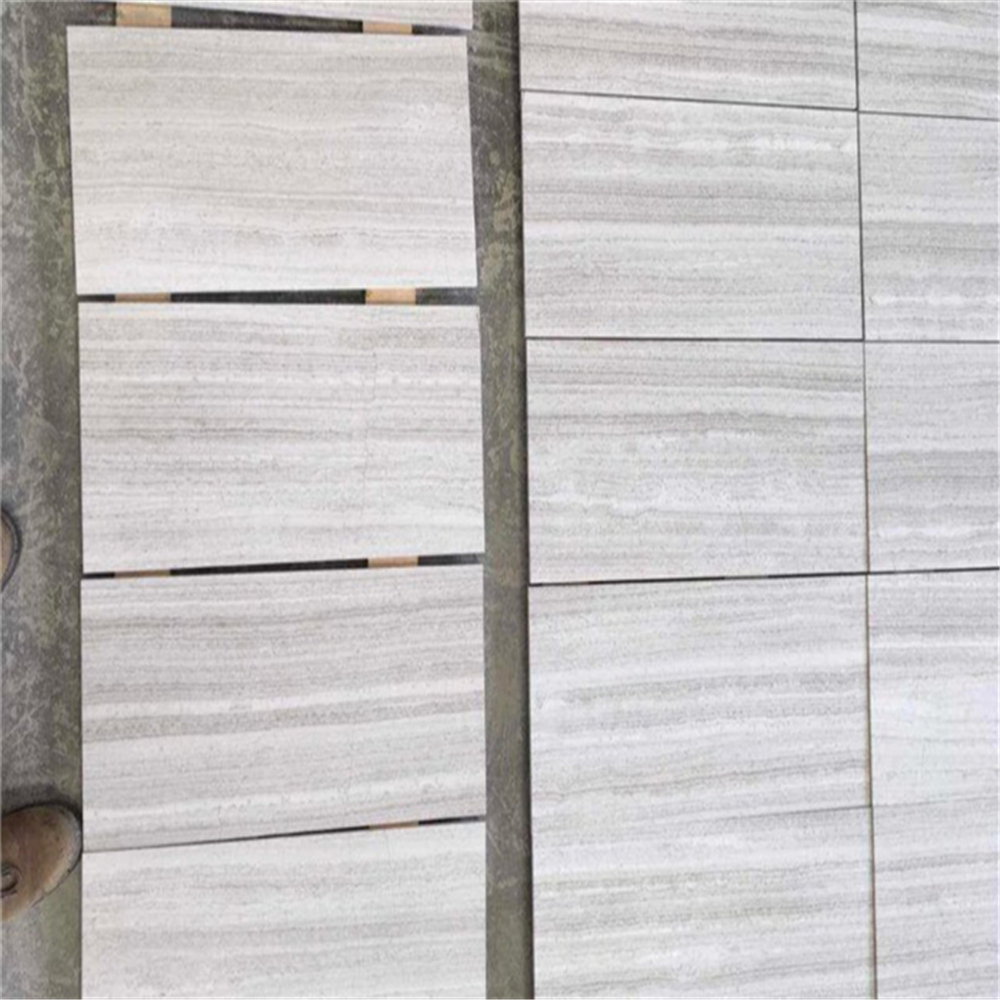 Traditional china wooden white marble wood grain marble