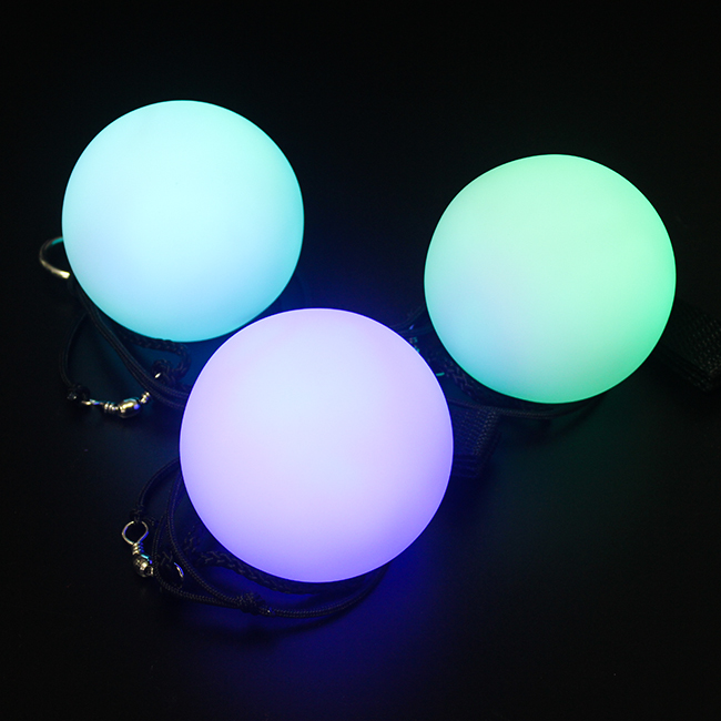 2018 Party Decoration Led Light Up Poi <strong>Ball</strong> For Dance
