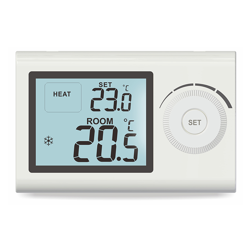 Digital Boiler Room Wall LCD Display Thermostat