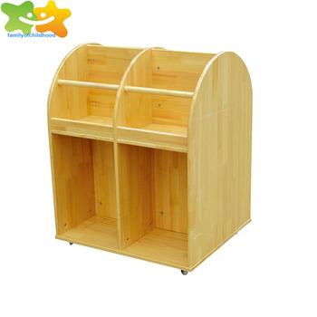 Ce Certified Daycare Center Kids Wooden Bookshelf For Sale