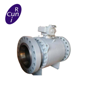 Female thread direct mount 1000 wog high mounting flange ball valve