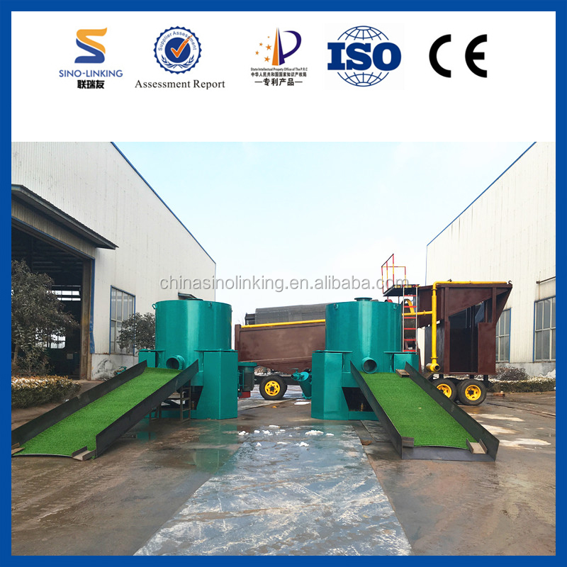SINOLINKING Gravity Gold Mining Equipment Gold Grass Mat