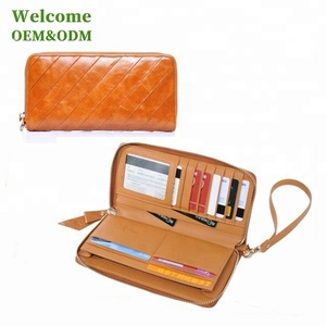 KID genuine leather elegance women wallet with lock