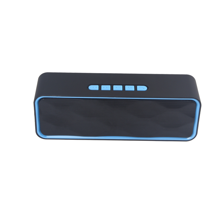 2018 Hottest selling handsfree calling TF card slot portable outdoor bluetooth speaker with fm radio