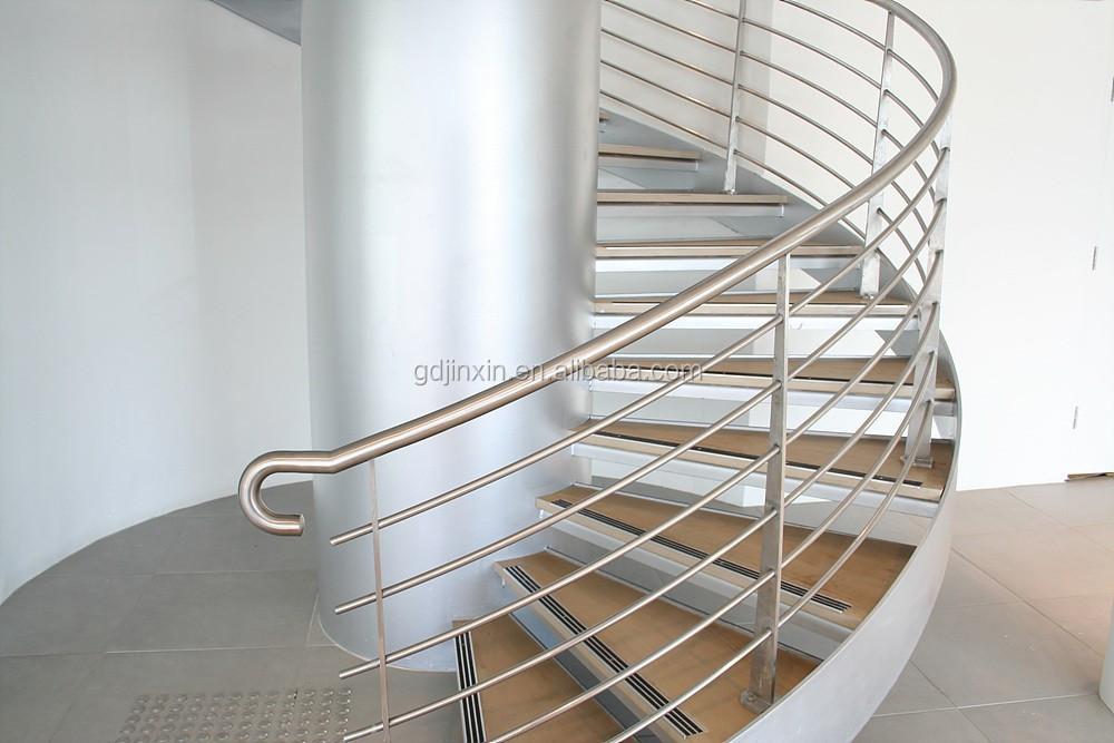 Roestvrij staaldraad trap balustrade moderne baluster for Trap ontwerpen