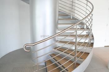 Roestvrij staaldraad trap balustrade moderne baluster ontwerpen