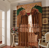 Elegant modern embroidery french style atmosphere fashion curtain