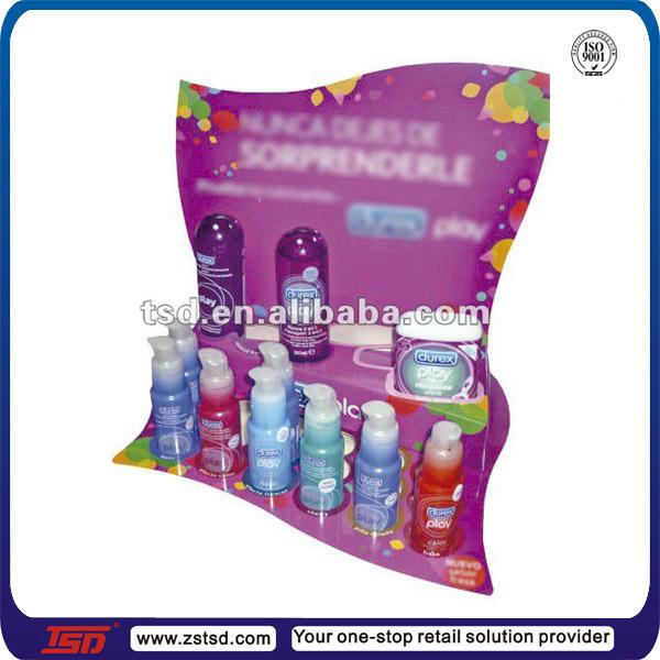 TSD-A086 Custom acrylic desktop condom display stand/sex products display  rack/acrylic display screen stand