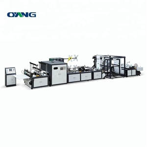New design center sealing plastic bag making machine manual